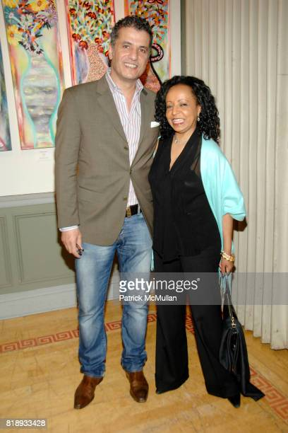 Naz and Samir Tahan attend MICHELLEMARIE HEINEMANN and TERRI LINDVALL'S Lecture and Private Dinner to benefit the YORKVILLE COMMON PANTRY at The...