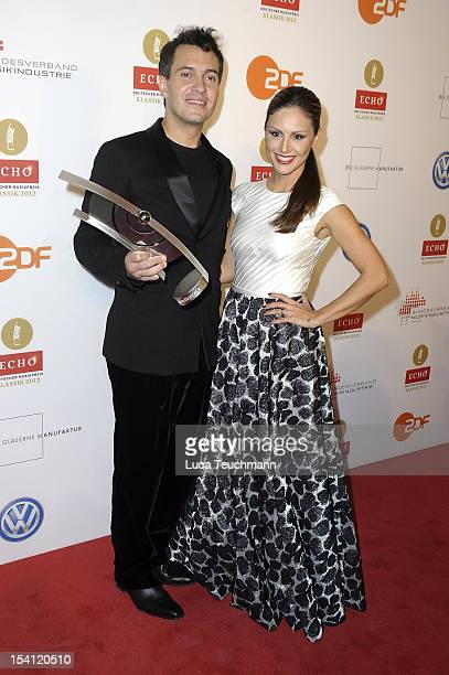 Nazan Eckes and Erwin Schrott attend the Echo Klassik 2012 award ceremony at Konzerthaus on October 14 2012 in Berlin Germany