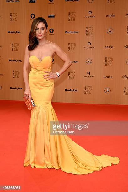 Nazan Eckes attends the Bambi Awards 2015 at Stage Theater on November 12 2015 in Berlin Germany