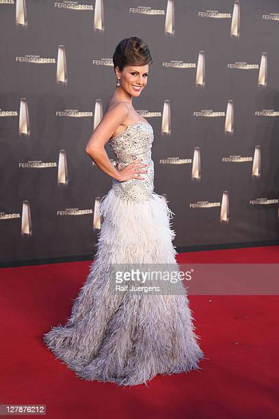 Nazan Eckes attends the German TV Award 2011 at Coloneum on October 2 2011 in Cologne Germany