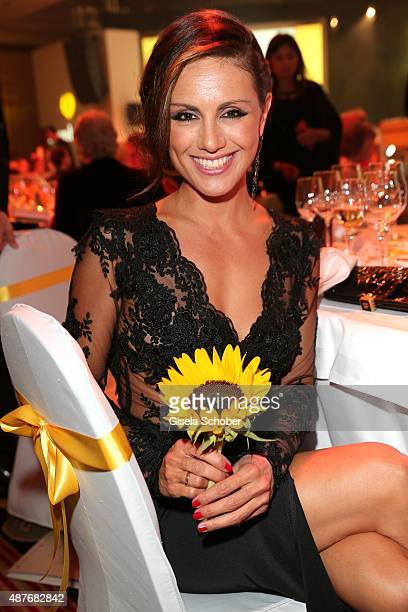 Nazan Eckes during the 10th anniversary of 'Dreamball' at Ritz Carlton on September 10 2015 in Berlin Germany