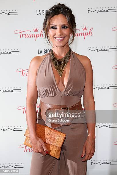 Nazan Eckes during the 'Triumph Maison Party' at Palais Nr 6 Schloss Nymphenburg on June 15 2016 in Munich Germany