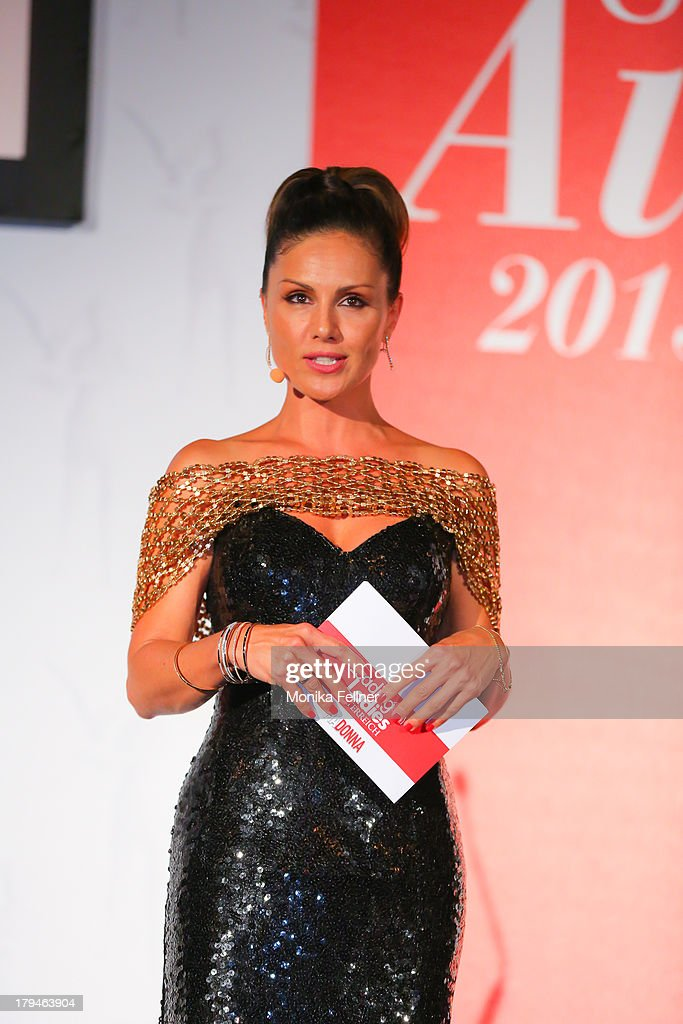 Nazan Eckes presents the Leading Ladies Awards 2013 at Belvedere Palace on September 3, 2013 in Vienna, Austria.