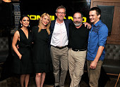 Nazanin Boniadi Claire Danes Alex Gansa Mandy Patinkin and Rupert Friend attend a Private Reception And Screening Of Homeland Season 4 on September 4...