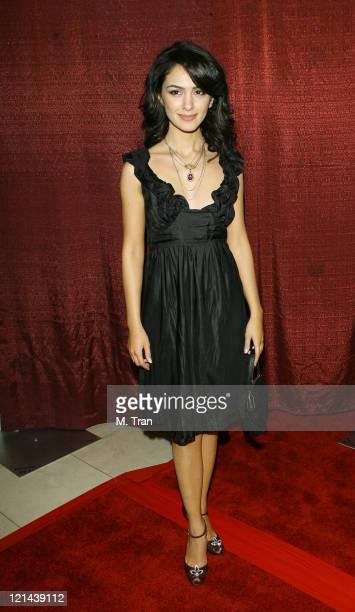 Nazanin Boniadi during Noor Film Festival Opening Ceremony at LAX Hilton Hotel in Los Angeles California United States
