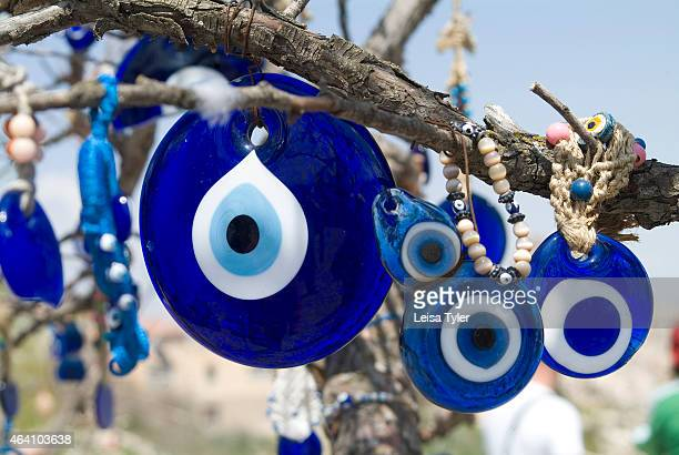 Nazar Boncugu or evil eye beads widely used throughout Turkey to ward off the evil eye For millennia Anatolian artisans have created blue glass...