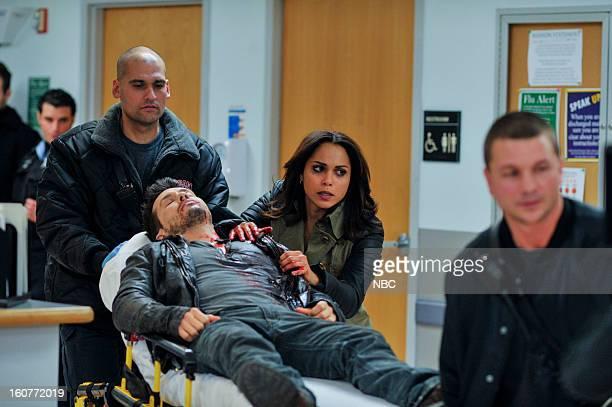 FIRE 'Nazdarovya' Episode 115 Pictured Jon Seda as Antonio Monica Raymund as Gabriella Dawson