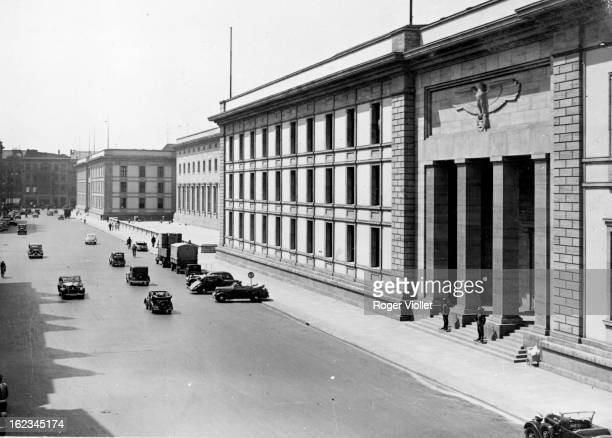 Nazi Germany the Reich Chancellery in Berlin 1937 Architect Speer