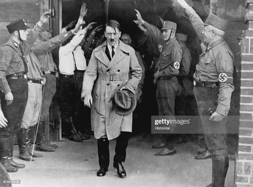 adolf hitler chancellor of germany in Adolf hitler (german: [ˈadɔlf ˈhɪtlɐ] ( listen) 20 april 1889 – 30 april 1945) was a german politician who was the leader of the nazi party (nationalsozialistische deutsche arbeiterpartei nsdap), chancellor of germany from 1933 to 1945 and führer (leader) of nazi germany from 1934 to 1945.