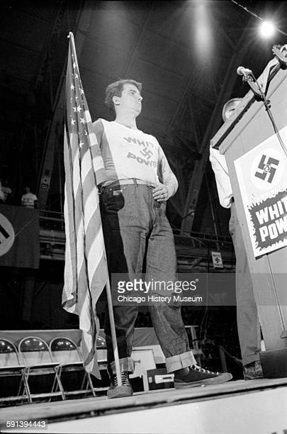 american nazi party skokie il Chicago-area neo-nazis and the 'skokie swastika war'  frank collin, leader of  the national socialist party of america, holds a rally in  and high schools and  attended southern illinois university before dropping out.