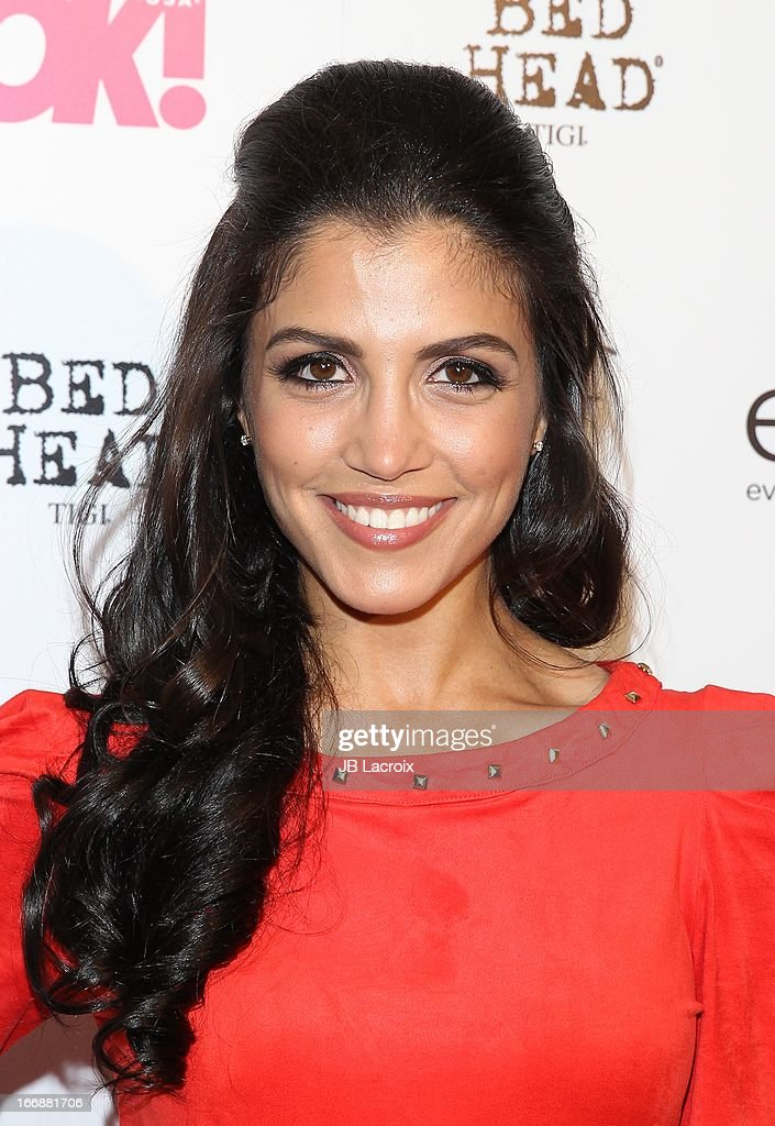 Nazneen Contractor attends the OK! Magazine's 'So Sexy' party at Mondrian Los Angeles on April 17, 2013 in West Hollywood, California.