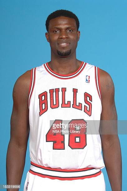 Nazr Mohammed of the Chicago Bulls poses for a portrait as part of 201213 Media Day on October 1 2012 at the Sheri L Berto Center in Deerfield...