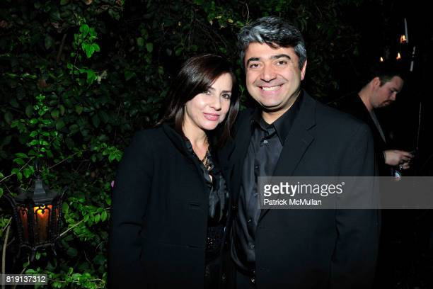 Nazy Fateri Fardad Fateri attend NICOLAS BERGGRUEN's 2010 Annual Party at the Chateau Marmont on March 3 2010 in West Hollywood California