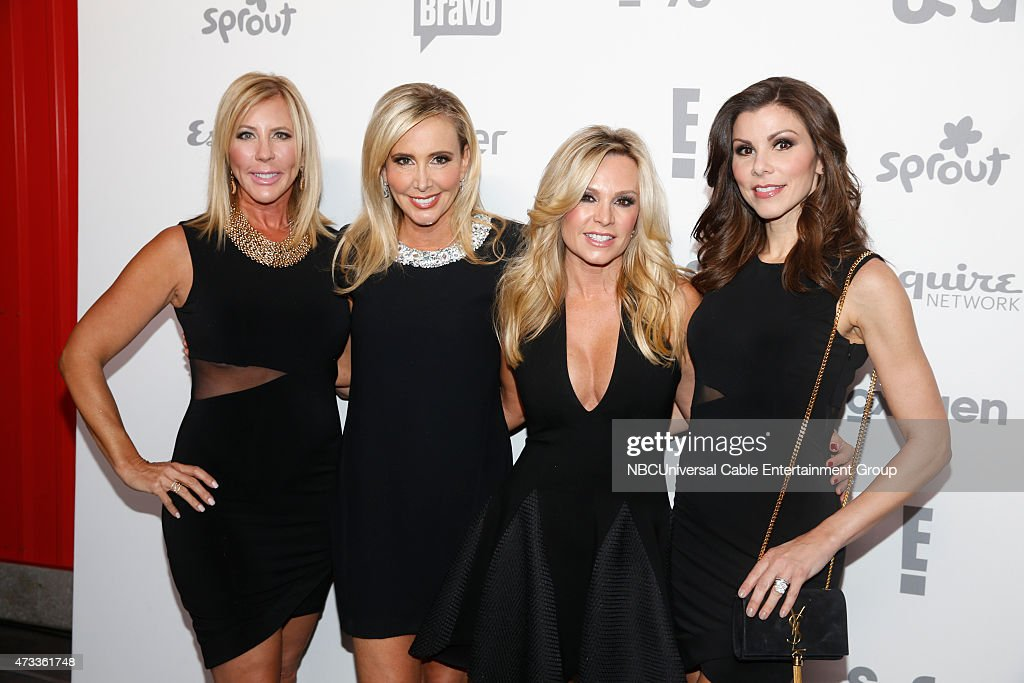 UPFRONT '2015 NBCUniversal Cable Entertainment Upfront at the Javits Center in New York City on Thursday May 14 2015' Pictured Vicki Gunvalson...
