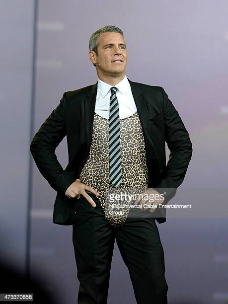 UPFRONT '2015 NBCUniversal Cable Entertainment Upfront at the Javits Center in New York City on Thursday May 14 2015' Pictured Andy Cohen Watch What...