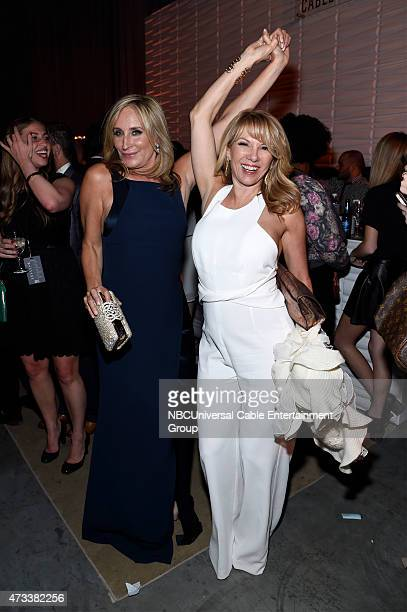 UPFRONT '2015 NBCUniversal Cable Entertainment Upfront at the Javits Center in New York City on Thursday May 14 2015' Pictured Sonja Morgan Ramona...