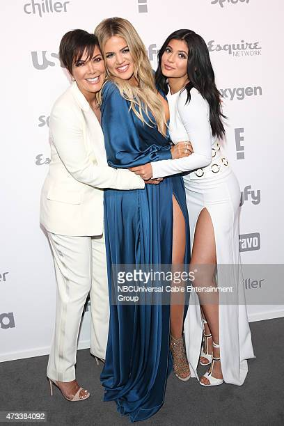 UPFRONT '2015 NBCUniversal Cable Entertainment Upfront at the Javits Center in New York City on Thursday May 14 2015' Pictured Kris Jenner Khloe...