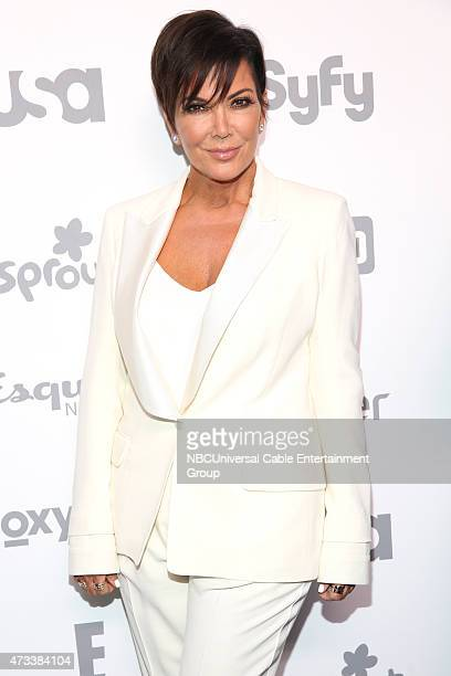 UPFRONT '2015 NBCUniversal Cable Entertainment Upfront at the Javits Center in New York City on Thursday May 14 2015' Pictured Kris Jenner 'Keeping...
