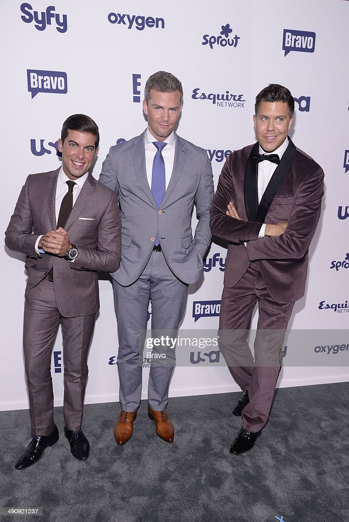 UPFRONT '2014 NBCUniversal Cable Entertainment Upfront at the Javits Center in New York City on Thursday May 15 2014' Pictured Luis D Ortiz 'Millions...