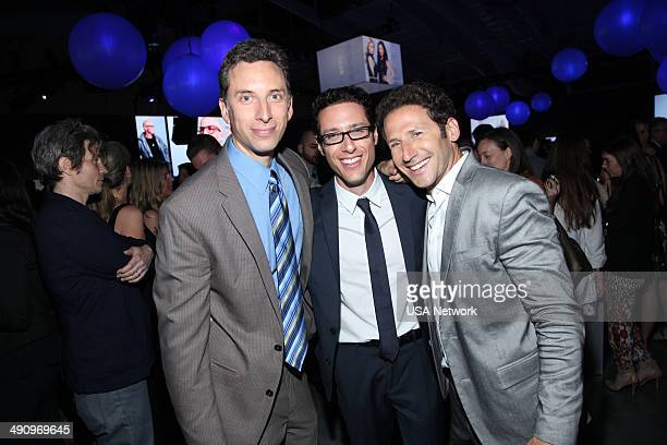 UPFRONT '2014 NBCUniversal Cable Entertainment Upfront at the Javits Center in New York City on Thursday May 15 2014' Pictured Ben Shenkman Paulo...