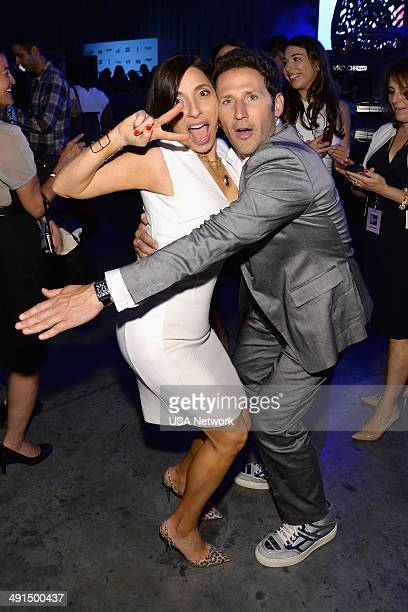 UPFRONT '2014 NBCUniversal Cable Entertainment Upfront at the Javits Center in New York City on Thursday May 15 2014' Pictured Linda Yaccarino...