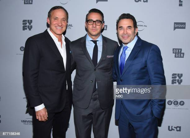 EVENTS NBCUniversal Holiday Kickoff Party at Beauty Essex in Los Angeles CA on Monday November 13 2017 Pictured Dr Terry Dubrow 'Botched' Adam...