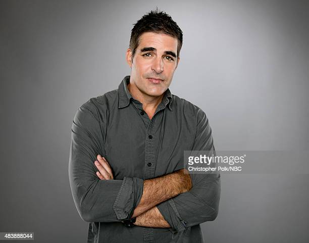 EVENTS NBCUniversal Portrait Studio August 2015 Pictured Actor Galen Gering from 'Days of Our Lives' poses for a portrait at the NBCUniversal Summer...