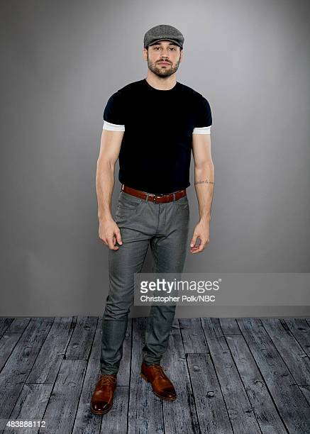 EVENTS NBCUniversal Portrait Studio August 2015 Pictured Actor Ryan Guzman from 'Heroes Reborn' poses for a portrait at the NBCUniversal Summer Press...