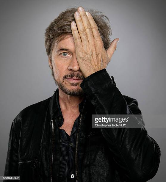 EVENTS NBCUniversal Portrait Studio August 2015 Pictured Actor Stephen Nichols from 'Days of Our Lives' poses for a portrait at the NBCUniversal...