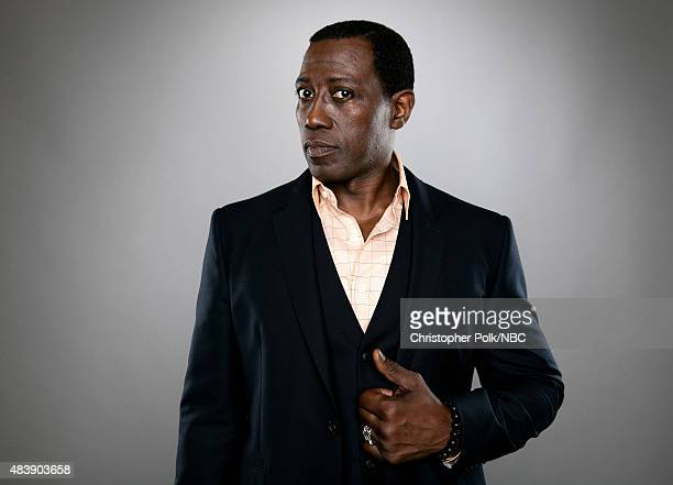 EVENTS NBCUniversal Portrait Studio August 2015 Pictured Actor Wesley Snipes from 'The Player' poses for a portrait at the NBCUniversal Summer Press...
