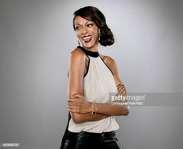 EVENTS NBCUniversal Portrait Studio August 2015 Pictured Actress Judi Shekoni from 'Heroes Reborn' poses for a portrait at the NBCUniversal Summer...