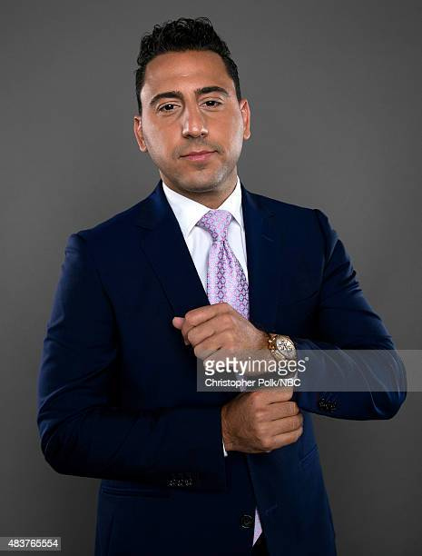 EVENTS NBCUniversal Portrait Studio August 2015 Pictured TV personality Josh Altman of 'Million Dollar Listing' poses for a portrait at the...