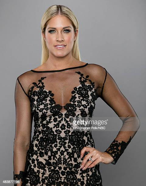 EVENTS NBCUniversal Portrait Studio August 2015 Pictured TV personality Barbie Blank from 'WAGS' poses for a portrait at the NBCUniversal Summer...