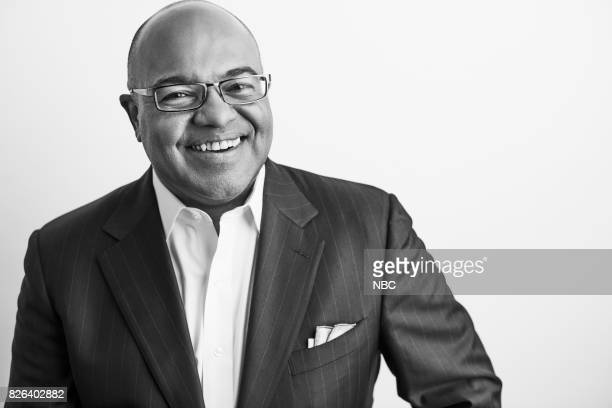 EVENTS NBCUniversal Portrait Studio August 2017 Pictured Mike Tirico 'The Winter Olympics'
