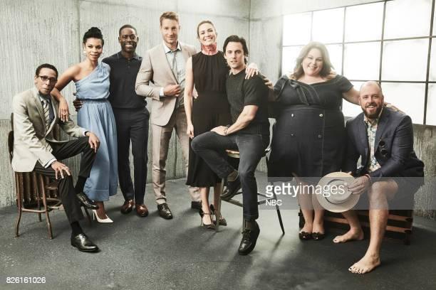 EVENTS NBCUniversal Portrait Studio August 2017 Pictured Ron Cephas Jones Susan Kelechi Watson Sterling K Brown Chrissy Metz Mandy Moore Milo...