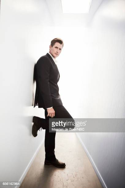 EVENTS NBCUniversal Portrait Studio March 2017 Pictured Brendan Fehr 'The Night Shift' on March 20 2017 in Los Angeles California NUP_177600