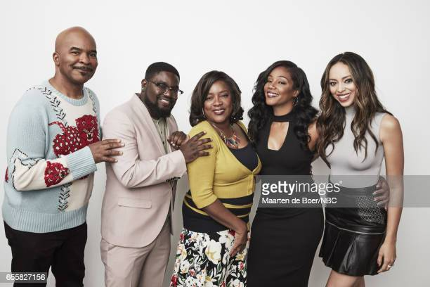 EVENTS NBCUniversal Portrait Studio March 2017 Pictured David Alan Grier Lil Rel Howery Loretta Devine Tiffany Haddish Amber Stevens West 'The...