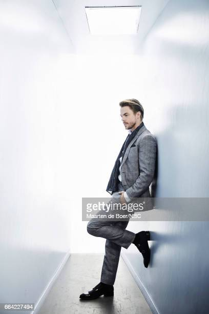 NBCUniversal Portrait Studio March 2017 Pictured Derek Hough 'World of Dance' on March 20 2017 in Los Angeles California NUP_177600 Photo by Maarten...