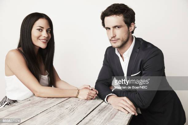 EVENTS NBCUniversal Portrait Studio March 2017 Pictured Inbar Lavi Rob Heaps 'Imposters' on March 20 2017 in Los Angeles California NUP_177600