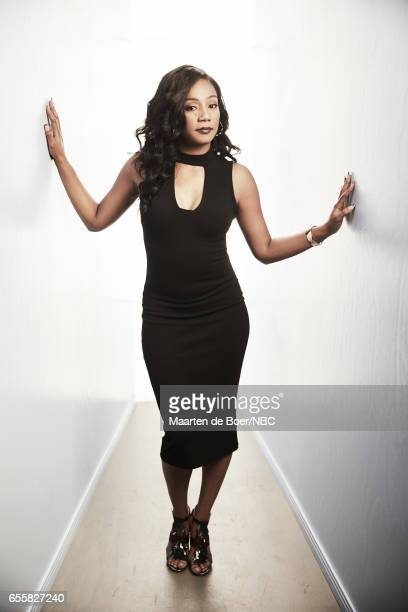 EVENTS NBCUniversal Portrait Studio March 2017 Pictured Tiffany Haddish 'The Carmichael Show' on March 20 2017 in Los Angeles California NUP_177600