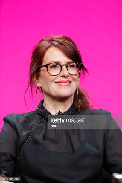 EVENTS NBCUniversal Press Tour August 2017 NBC's 'Will Grace' Session Pictured Megan Mullally