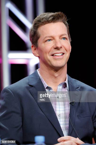 EVENTS NBCUniversal Press Tour August 2017 NBC's 'Will Grace' Session Pictured Sean Hayes