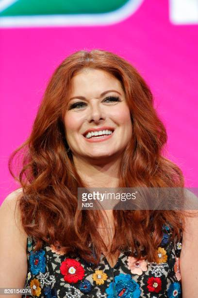 EVENTS NBCUniversal Press Tour August 2017 NBC's 'Will Grace' Session Pictured Debra Messing