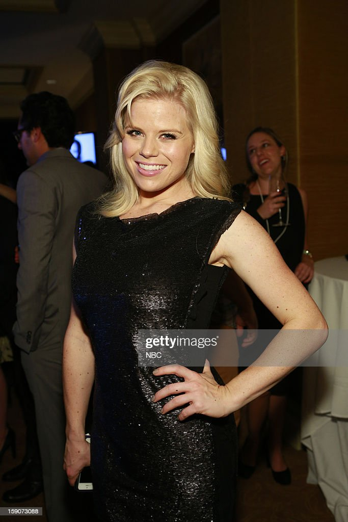 EVENTS -- NBCUniversal Press Tour January 2013 -- 'Evening Cocktail Reception' -- Pictured: Megan Hilty --