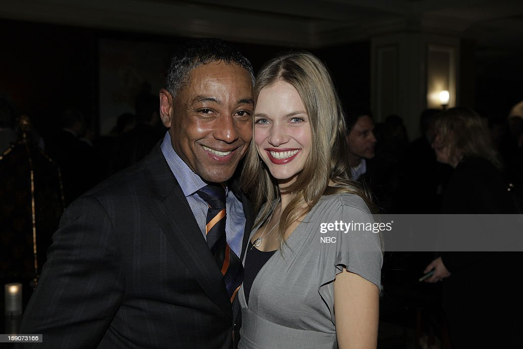 EVENTS -- NBCUniversal Press Tour January 2013 -- 'Evening Cocktail Reception' -- Pictured: (l-r) Giancarlo Esposito, Tracy Spiridakos 'Revolution' --