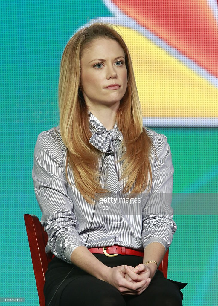 EVENTS -- NBCUniversal Press Tour January 2013 -- 'Grimm' -- Pictured: Claire Coffee --