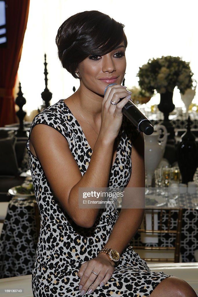 EVENTS -- NBCUniversal Press Tour January 2013 -- Pictured: Frankie Sandford, 'Chasing the Saturdays' --