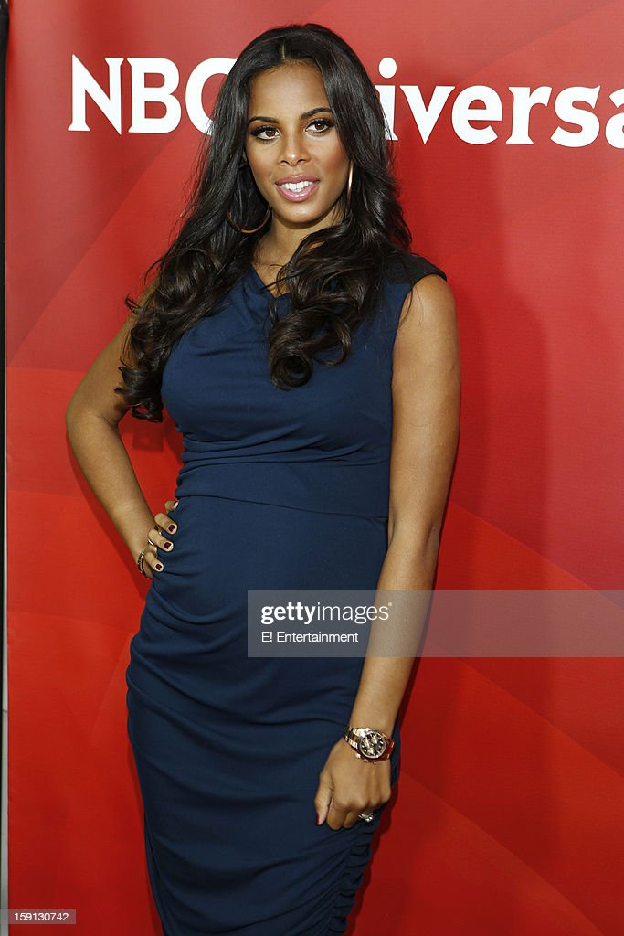 EVENTS -- NBCUniversal Press Tour January 2013 -- Pictured: Rochelle Humes, 'Chasing the Saturdays' --