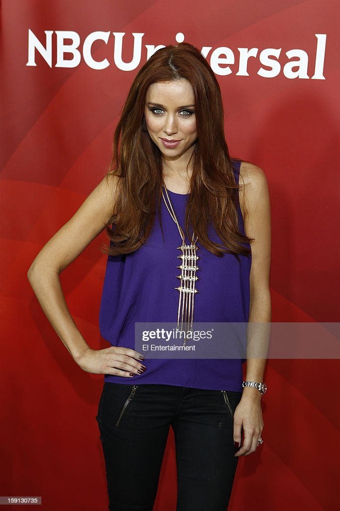 EVENTS -- NBCUniversal Press Tour January 2013 -- Pictured: Una Healy, 'Chasing the Saturdays' --