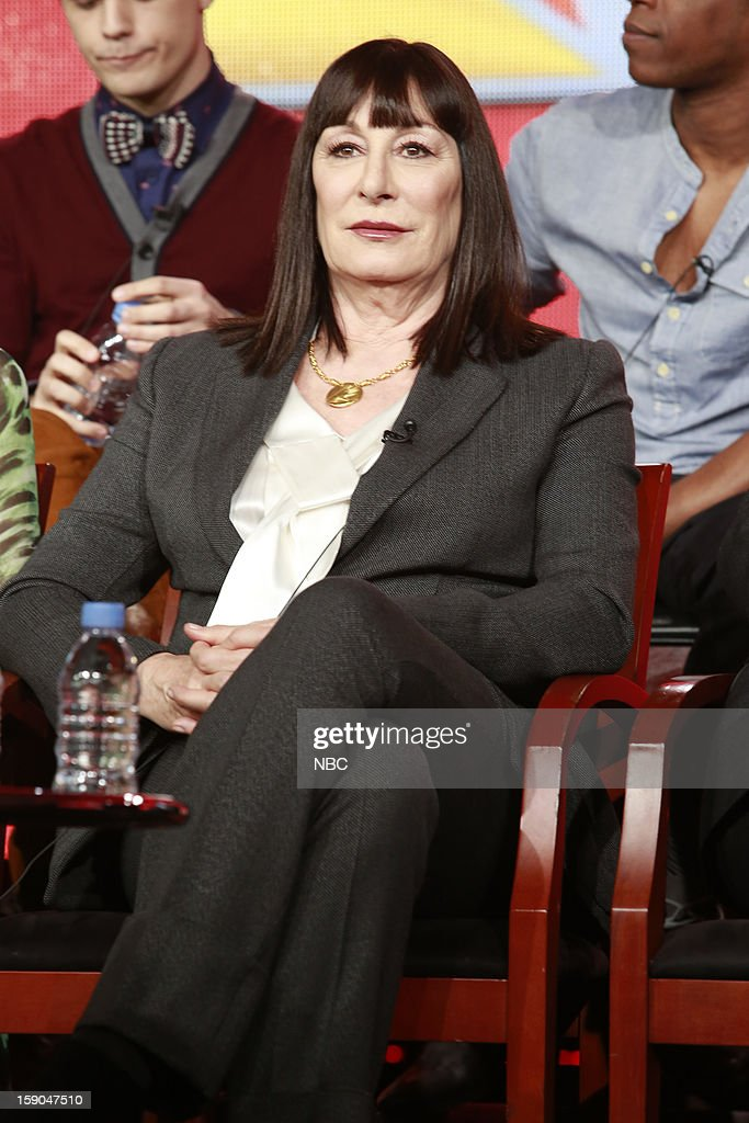 EVENTS -- NBCUniversal Press Tour January 2013 -- 'Smash' -- Pictured: Anjelica Huston --